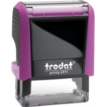 Оснастка для штампу TRODAT 4911 Р4, рожева