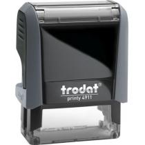 Оснастка для штампа TRODAT 4911 Р4, серая