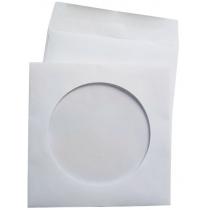 Конверт для CD с окошком, мокроклеющий