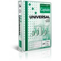 Бумага офисная CAPTAIN Universal А4, 80г / м2, 500л, класс C