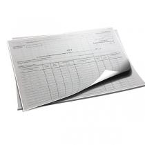 Акт списания бланков строгой отчетности А4, 1шт.