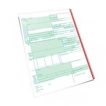 Таможенная декларация ТД-2 самокопировальная формат А4 комплект 4 листа