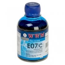 Чернила для Epson, Stylus E07/C, cyan, 200 г.