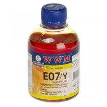 Чернила для Epson, Stylus E07/Y, yellow, 200 г.