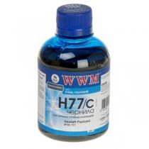 Чернила для HP, H77/C, cyan, 200 г.