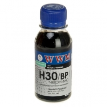 Чернила для HP, H30/BP-2, black pigmented, 100 г.