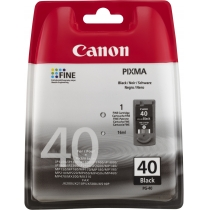 Картридж струйный CANON cartr.PG-40 for PIXMA MP450/150/170 Чорний, для P1700, iP1600, iP6220D/6210D