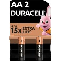 Батарейка DURACELL АА MN1500 2шт. в упаковке