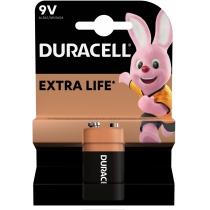 Батарейка DURACELL крона 9V MN1604 1шт. в упаковке
