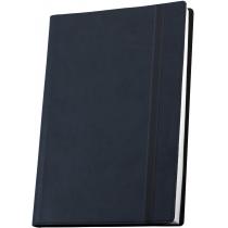 Деловая записная книжка А5  с резинкой, Vivella , цвет обложки - темно-синий