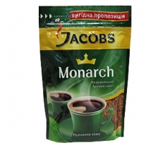 "Кофе растворимый Jacobs ""Monarch"", економ.пакет, 80г."