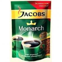 """Кава розчинна Jacobs """"Monarch"""" 130 г економ пакет"""