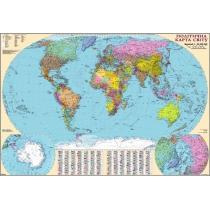 Політична карта світу 110х160 см