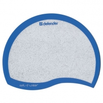 Коврик для мыши DEFENDER ERGO opti - laser , пластик , синий