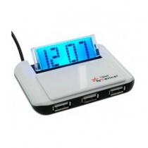 """Хаб устройства 3-х портовий """"Часы (PUH5117)"""