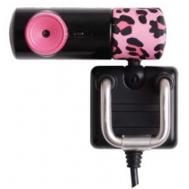 Веб-камера G-CUBE Leopard Web розовая УГВ-835P