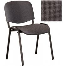 Кресло ISO-17 black, Ткань CAGLIARI, серый C-38