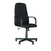 Кресло DIPLOMAT, C-11, ткань, черное, Украина