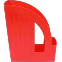Лоток вертикальний Веселка Economix, червоний, 250х75х310