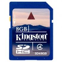 Карта памяти SDHC 8Gb KINGSTON (класс 4)