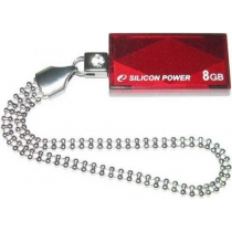 Флеш память 8Gb SILICON POWER Touch 810 Red