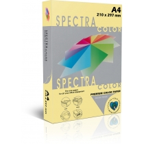 Папір кольоровий SINAR SPECTRA, А4, 80 г/м2, 500 л, пастель, світло-жовта