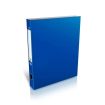 Папка-регистратор на 2-D кольца, А4, 50мм, синяя