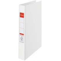 Папка-реєстратор Esselte А4, 2 кільця по 25мм, біла