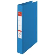 Папка-регистратор Esselte А4, 2 кольца по 25мм, синяя