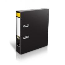 Папка-регистратор Format, ламинированный картон, А4, 70мм, черная