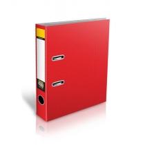 Папка-регистратор Format, ламинированный картон, А4, 70мм, красная