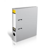 Папка-регистратор Format, ламинированный картон, А4, 70мм, серая