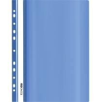 Папка-скоросшиватель глянец А5 с перфорацией синяя