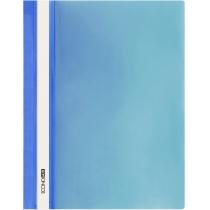 Папка-скоросшиватель глянец А5 без перфорации синяя