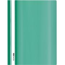 Папка-скоросшиватель глянец А5 без перфорации зеленая