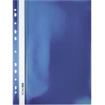 Папка-скоросшиватель А4 с перфорацией синяя