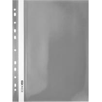 Папка-швидкозшивач А4 з перфорацією сірий