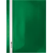 Папка-скоросшиватель А4 без перфорации зеленая