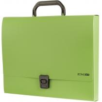 4f54350f21b8 Портфель пластиковый A4 Economix на застежке, 1 отделение, салатовый