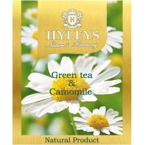 Чай Hyleys 25 шт х 1,5 г зеленый с ромашкой
