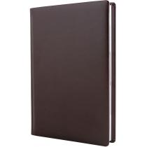 Ежедневник полудатированный, А5, Nebraska, темно-коричневый