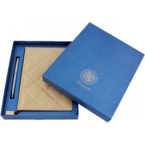 Коробка подарочная пустая, синяя крышка