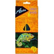 """Карандаши цветные пластиковые """"Animal World"""", 12 цветов"""