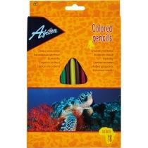 """Карандаши цветные пластиковые """"Animal World"""", 18 цветов"""