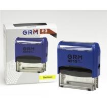 Оснастка автомат., GRAFF 4915 P3, пласт., для штампа 70х25 мм, синя