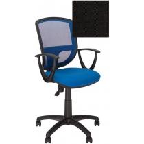 Кресло BETTA GTP P OH/5 C-11, Ткань CAGLIARI, черное, Пласт База