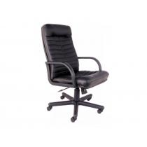 Кресло ORMAN, SP-A, с элементами кожи, черное, Украина