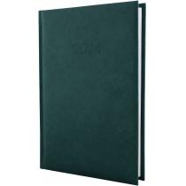 Ежедневник датированный 2020 ALGORA, темно-зеленый, А5