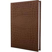 Ежедневник датированный 2020, А5 ALGORA, коричневый