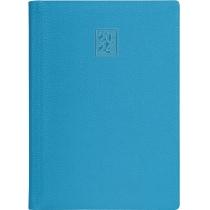 Ежедневник датированный 2020, ARMONIA, голубой, кремовый блок, А5